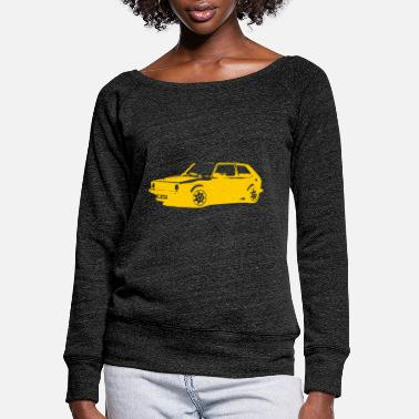 Hobbyists Car / hobbyist - Women's Wide-Neck Sweatshirt