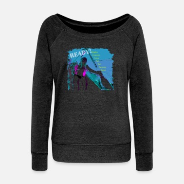 Dragon paddler - Women's Wideneck Sweatshirt