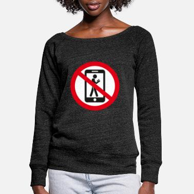 Prohibited the prohibition - Women's Wide-Neck Sweatshirt