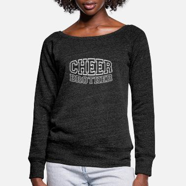 Funny Cheerleader Tee Shirt Gifts - Women's Wide-Neck Sweatshirt