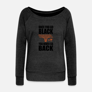 Shooting Star Black Hole Math Physics sarcasm gifts - Women's Wide-Neck Sweatshirt
