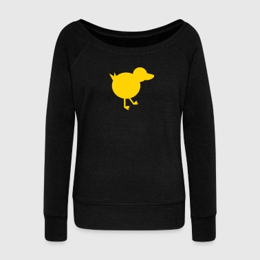 duck duck - Women's Wideneck Sweatshirt