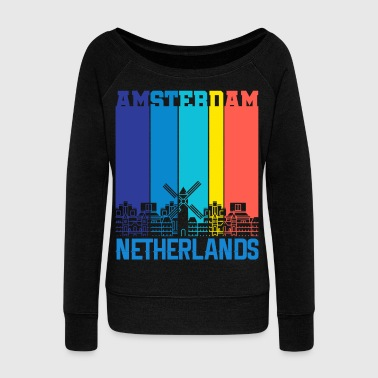 Holland Amsterdam Holland Netherlands - Women's Wideneck Sweatshirt