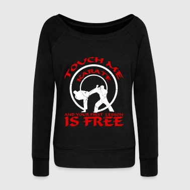 Karate, Judo, Kung Fu - Women's Wideneck Sweatshirt