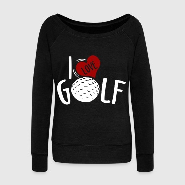 Golf Course Golf - Women's Wideneck Sweatshirt