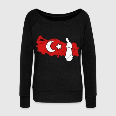 Ankara Turkey Instanbul Ankara gift turkish - Women's Wideneck Sweatshirt