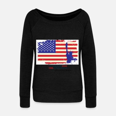 Reminder Veterans Day - Women's Wideneck Sweatshirt