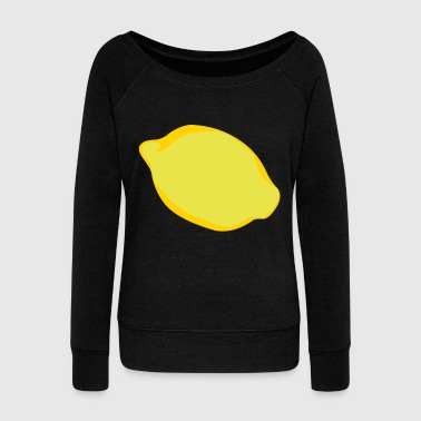 Lemon - Women's Wideneck Sweatshirt