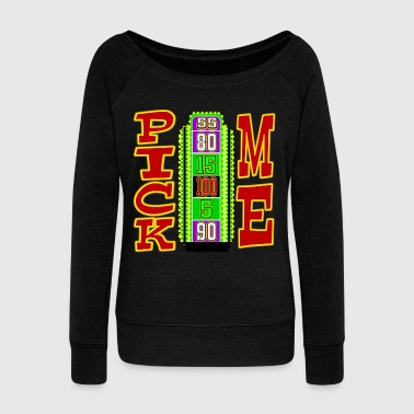 TV Game Show Contestant - TPIR (The Price Is...) - Women's Wideneck Sweatshirt