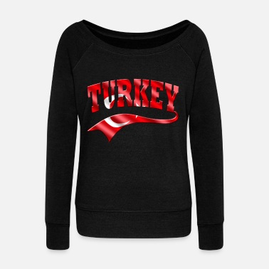 Islam Turkey - Women's Wideneck Sweatshirt