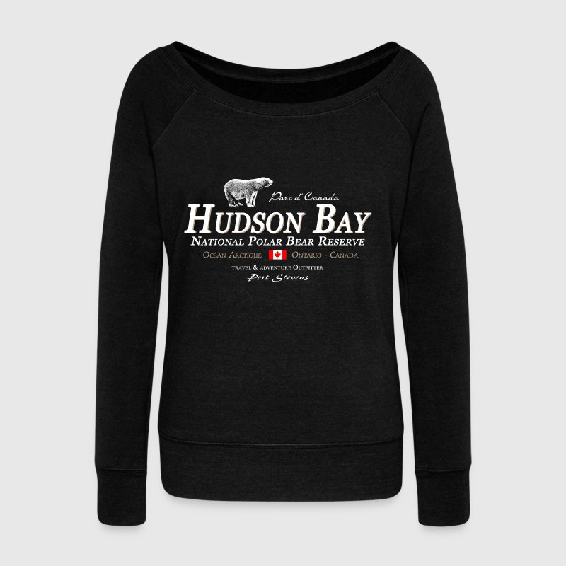Polar Bear - Bear - Hudson Bay - Canada - Women's Wideneck Sweatshirt