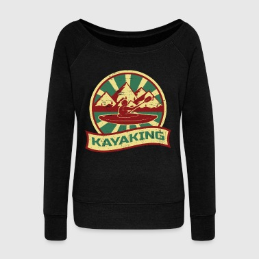 Kayaking Propaganda - Women's Wideneck Sweatshirt