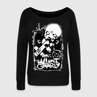 child of satan - Women's Wideneck Sweatshirt