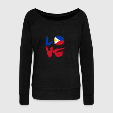 Love Philippines - Women's Wideneck Sweatshirt