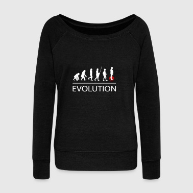 Evolution Solowheel - Women's Wideneck Sweatshirt