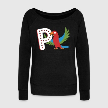 Parrot Shirt - Women's Wideneck Sweatshirt