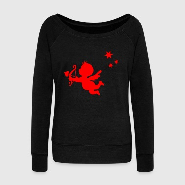 Cupid cupid - Women's Wideneck Sweatshirt