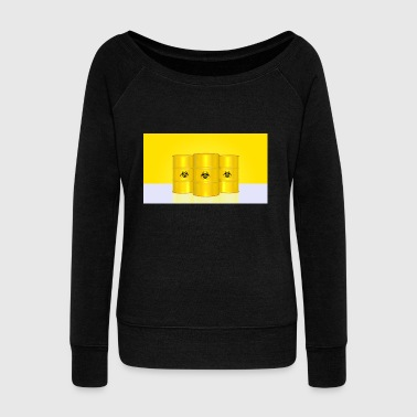 nuclear - Women's Wideneck Sweatshirt