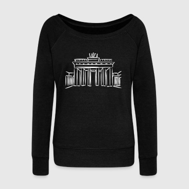 Kreuzberg Germany capital Berlin gift - Women's Wideneck Sweatshirt