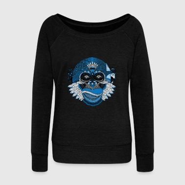 Ape Face Ape - Women's Wideneck Sweatshirt