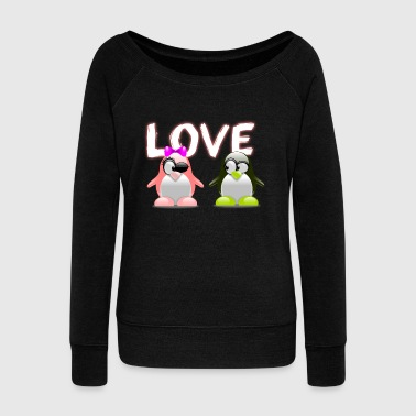 Couple Love Love couple - Women's Wideneck Sweatshirt