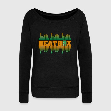 Beatbox - Women's Wideneck Sweatshirt
