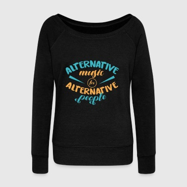 Alternative Alternative - Women's Wideneck Sweatshirt