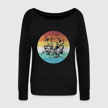Ocean Octopus - Women's Wideneck Sweatshirt