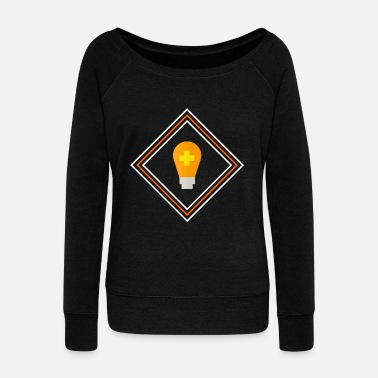 No Idea idea - Women's Wideneck Sweatshirt