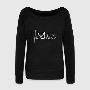 Dive - Dive Heartbeat - Dive - Women's Wideneck Sweatshirt