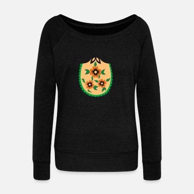 Voodoo Russian Nesting Doll - Women's Wideneck Sweatshirt