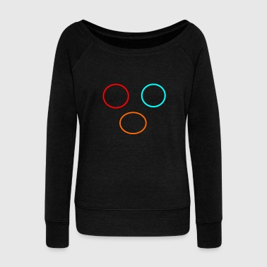 circle - Women's Wideneck Sweatshirt