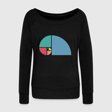 Golden Ratio Golden ratio - Women's Wideneck Sweatshirt