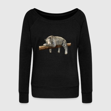 tiger - Women's Wideneck Sweatshirt