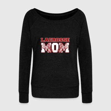 Lacrosse Lacrosse MOM - Women's Wideneck Sweatshirt