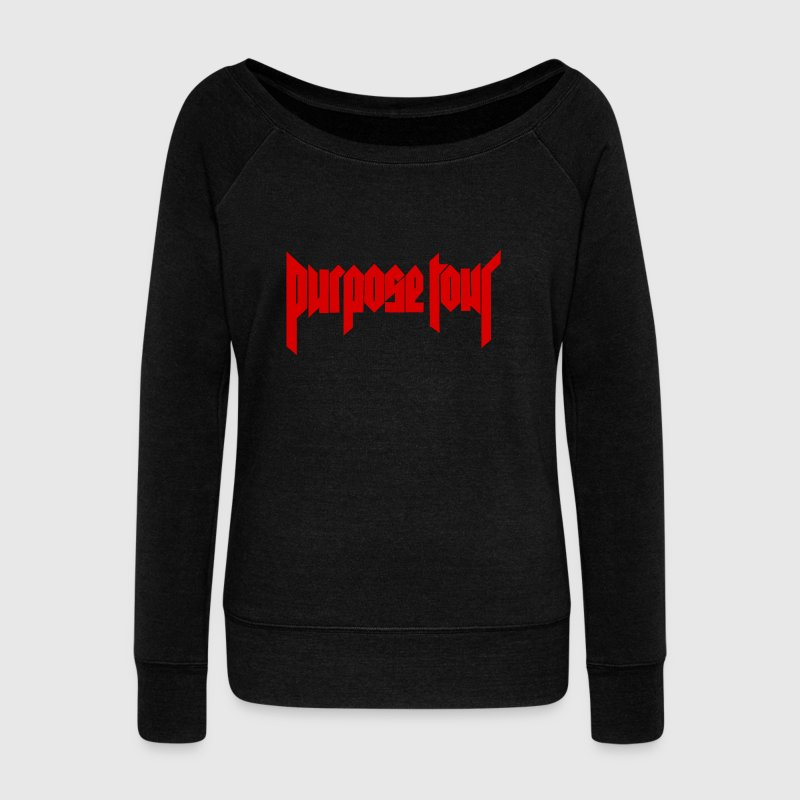 Purpose Tour - Women's Wideneck Sweatshirt