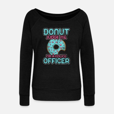 Law Enforcement Police - Women's Wideneck Sweatshirt