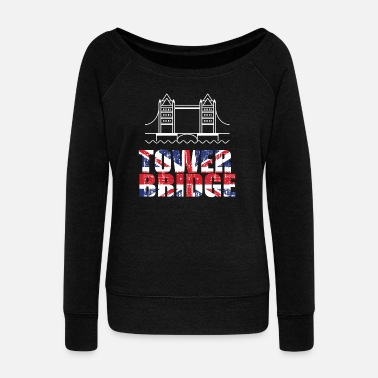 Tower Bridge Tower Bridge - Women's Wideneck Sweatshirt