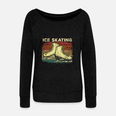 Figure Skating Ice skating - Women's Wideneck Sweatshirt