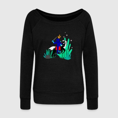 Illustration illustration - Women's Wideneck Sweatshirt