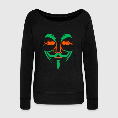 Mask - Mask - Women's Wideneck Sweatshirt