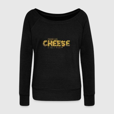 Cheese - Women's Wideneck Sweatshirt