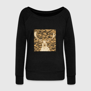 Antler - Women's Wideneck Sweatshirt
