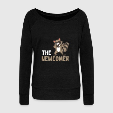 Raccoon - Women's Wideneck Sweatshirt