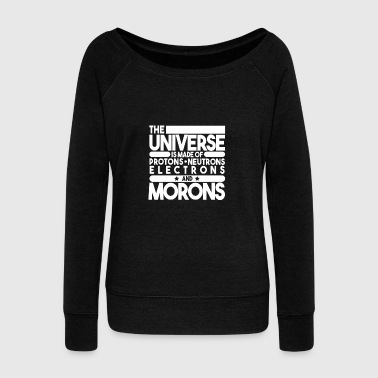 physics - Women's Wideneck Sweatshirt