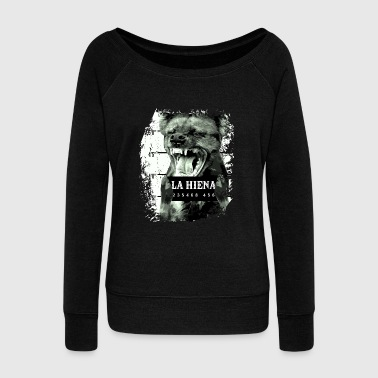 Animal Print Gift - La Hiena - Women's Wideneck Sweatshirt