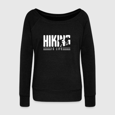 Hiking - Women's Wideneck Sweatshirt