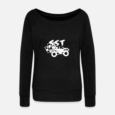 Super Car Stadium Super Truck SST Racing Gifts - Women's Wideneck Sweatshirt