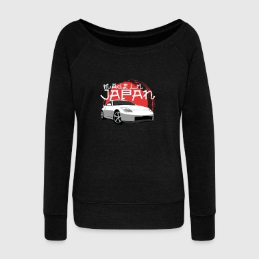 Motorsport Japanese Sports Car - Made in Japan - Women's Wideneck Sweatshirt