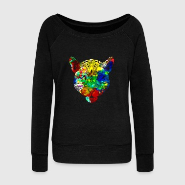 Jaguar T shirt - Women's Wideneck Sweatshirt